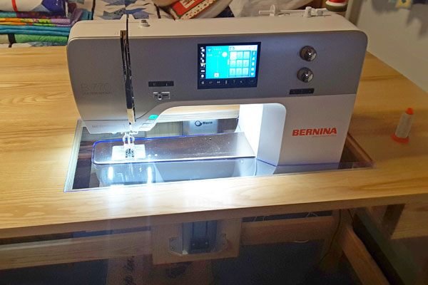 Bespoke sewing table